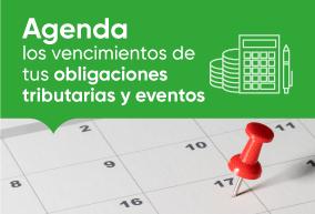 Agencia Tributaria Calendario 2020.Calendario Contribuyente 2020